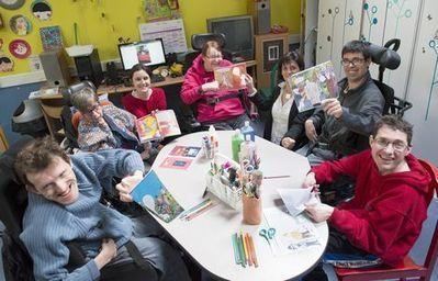 A Vern, les résidents de l'Orgerie ont réalisé leur BD   Veille sur la bande dessinée pour tous   Scoop.it