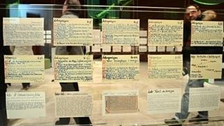 Zettelkästen: Alles und noch viel mehr: Die gelehrte Registratur | Inter-Facing the Archive | Scoop.it