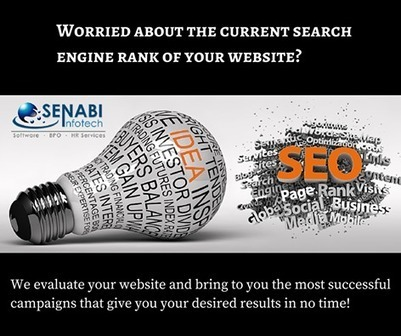 What Services to Expect From SEO Company London | SENABI Infotech Limited | Scoop.it