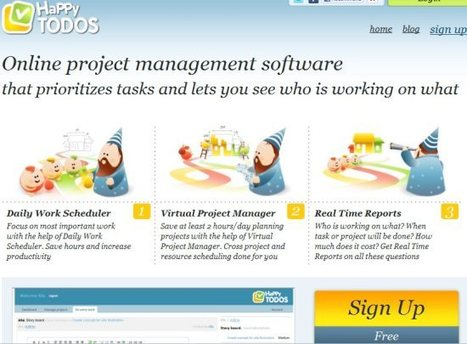 """""""Online List To DO Website""""   Project Management With HappyTODOS   Scoop.it"""