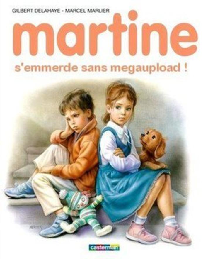 Martine s'emmerde sans MegaUpload | Baie d'humour | Scoop.it
