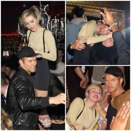 Miley Cyrus e Kellan Lutz: la coppia bollente del 2014? - JHP by Jimi Paradise ™ | FASHION & LIFESTYLE! | Scoop.it