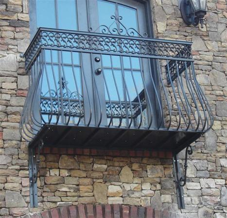 You can buy online railings and DIY the installation - saving so much $$ | Iron railings | Scoop.it