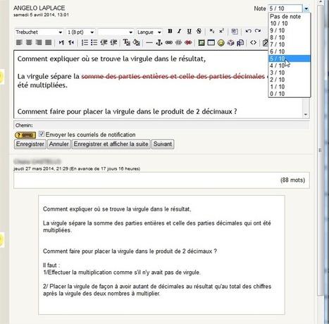 Ma première fois avec MOODLE...au collège - Les nouvelles ... | Moodle - modules, plugins, activites | Scoop.it