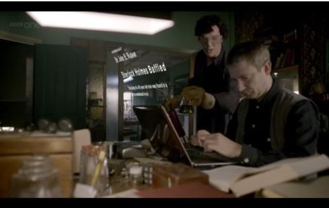 Simple, Elegant Genius: The BBC's Transmedia Sherlock - Part 1 | Transmedia: Storytelling for the Digital Age | Scoop.it