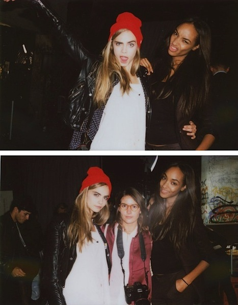 [night off/party on] Cara Delevingne & friends | Create Your Dream | Scoop.it