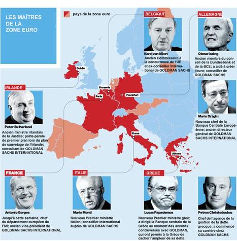 Le prix de la nouvelle démocratie : Goldman Sachs à la conquête de l'Europe | Greg mk Actu | Scoop.it