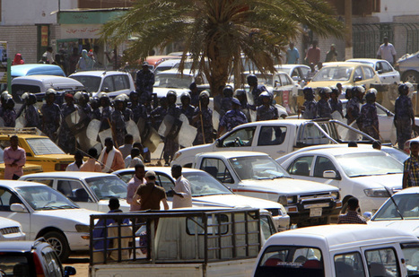 Sudan police clash with protesters | Coveting Freedom | Scoop.it