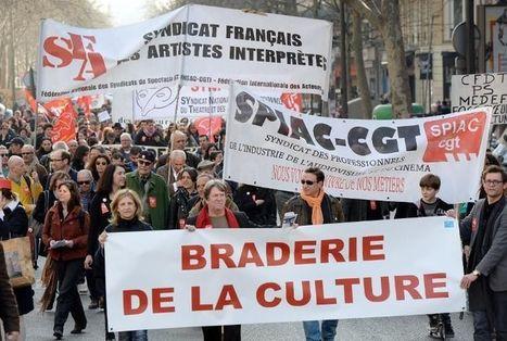 Plusieurs milliers de manifestants à la «Marche pour la culture» - Libération | Culture alternative | Scoop.it