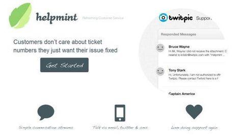 #Helpmint – servicio de atención al cliente para #Empresas del creador de Twitpic - #CRM   Management & Leadership   Scoop.it