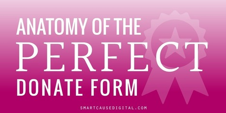 Anatomy of a Perfect Donate Form | Nonprofit Online Communications | Scoop.it