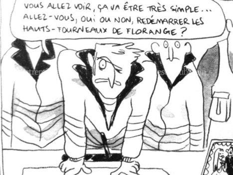 BD-Reportage Les sidérurgistes au château - Florange, ses hauts-fourneaux...   Romans régionaux BD Polars Histoire   Scoop.it