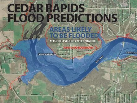 Residents of 5,000 Cedar Rapids homes asked to evacuate | Sustain Our Earth | Scoop.it