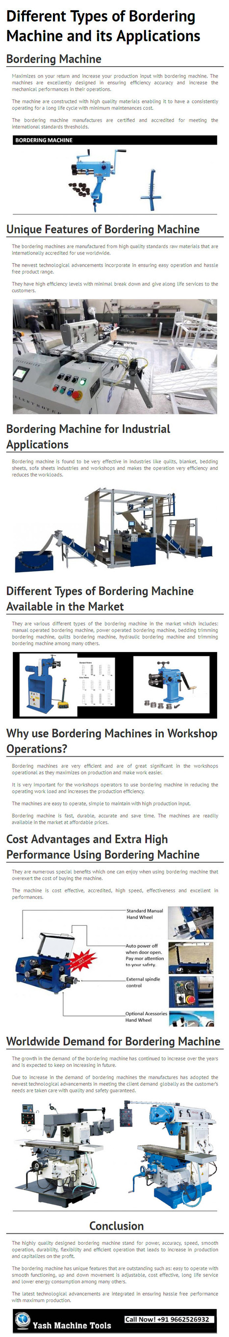 Different Types of Bordering Machine and its Applications – By www.yashmachine.com   Lathe Machines   Scoop.it