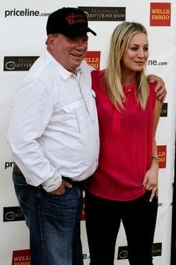William Shatner's Hollywood Charity Horse Show Draws Vince Gill, Kaley Cuoco | horse-celebrities | Scoop.it