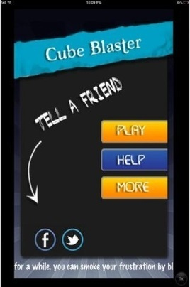 Cube blaster- fun game for iPhone and iPad | Mobile Media City | Alaram Clock | Scoop.it