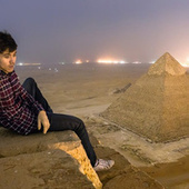 The Unbelievable Photos Taken by the Crazy Russians Who Illegally Climbed Egypt's Great Pyramid | The History of Art | Scoop.it