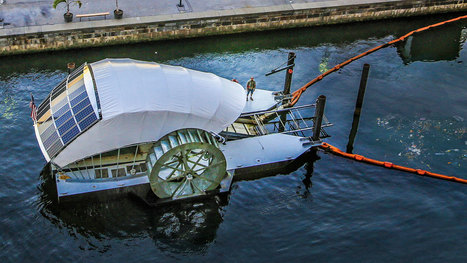 Mr. Trash Wheel, Keep on Turning - Cleaning Baltimore's Inner Harbor | Water quality | Scoop.it