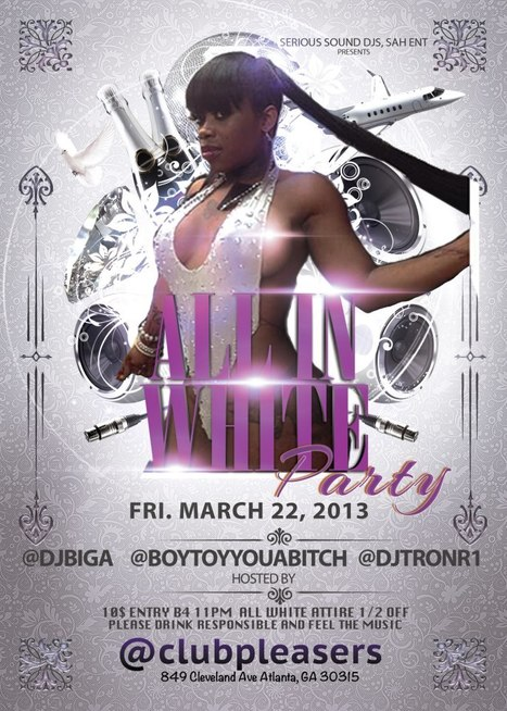 All White Party @Pleasers......... | GetAtMe | Scoop.it