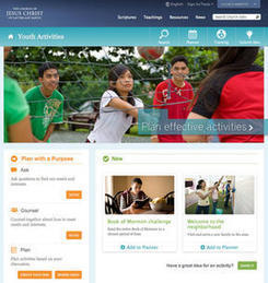 LDS Church launches youth activity website - Deseret News   Mormon Church   Scoop.it