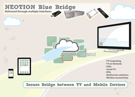 HBB Tablet : Neotion Blue Bridge extracts HbbTV data from the DVB stream and transfer it to a Tablet | Video Breakthroughs | Scoop.it