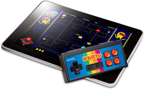 Go retro with the iCADE 8-Bitty controller. | Thedroidguy | Scoop.it