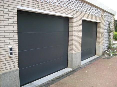 Smf services portes portails et fermetures for Porte de garage safir