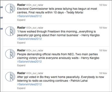 Citizen journalists report Sierra Leone elections by SMS | Media news | Journalism.co.uk | Journalisme en ligne | Scoop.it