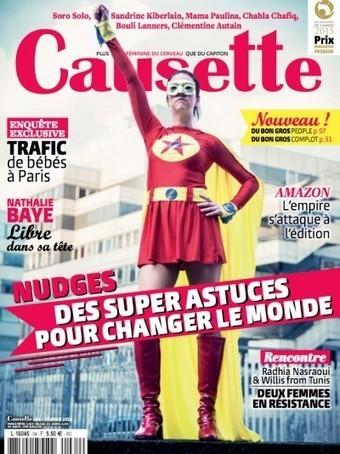 Causette n° 64 - février 2016   Abonnements  CDI   Scoop.it