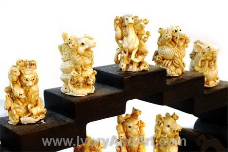 Complete Information about Ivory Netsuke by Mayra Thomas | Ivory Tusk Art Materials | Scoop.it