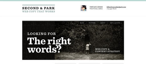 50 Examples of Effective Uses of Typography Within Web Design | Speckyboy Design Magazine | graphicdesigntips | Scoop.it