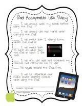 A Printable Acceptable Use Policy For Classroom iPads | Go Go Learning | Scoop.it