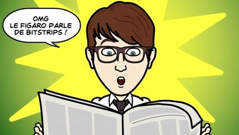 Bitstrips, l'application pour raconter sa vie en bande dessinée | Technology | Scoop.it