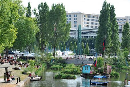 Nantes Métropole - Les jardins flottants reverdissent sur l'Erdre | Événements et développement durable | Scoop.it