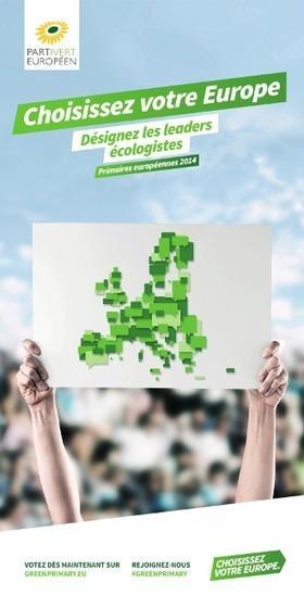 Elections européennes : EELV désigne ses têtes de listes | Europe Écologie Les Verts | Campagne européennes 2014 | Scoop.it