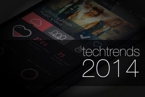 Les Tendances du Web pour l'année 2014   Techtrends   stephaniepro   Scoop.it