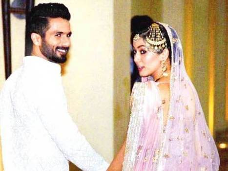 Shahid Kapoor-Mira Rajput Wedding: Here's all You Want to Know - NDTV Movies | Latest BOLLYWOOD movie news reviews | Scoop.it