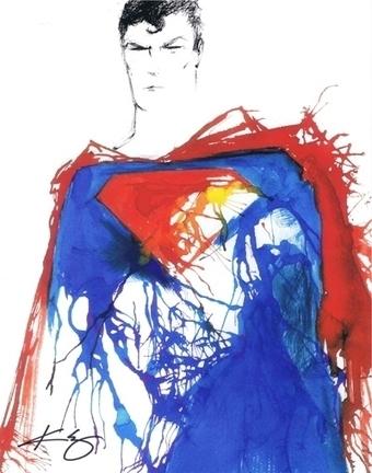Superman, in Jason WGavin's Artist: Kevin Eslinger Comic Art Gallery Room - 1195401 | Savvy Comics | Scoop.it