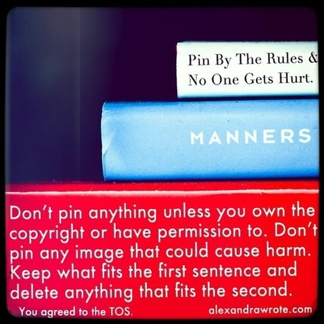 My Thoughts on Pinterest's New Terms | BlogHer | Pinterest | Scoop.it