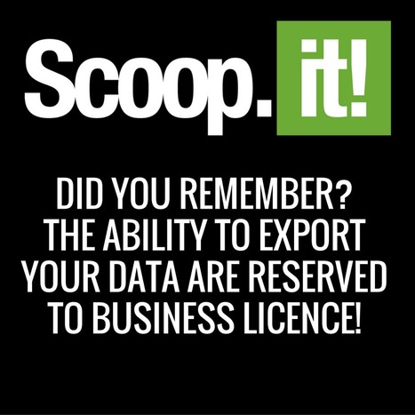 Scoop.it free licence? You're trapped in! Did you remember? | RSS Circus : veille stratégique, intelligence économique, curation, publication, Web 2.0 | Scoop.it