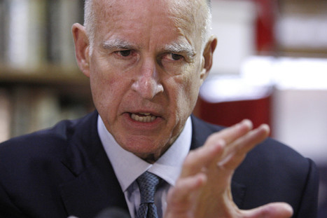 "CA Gov. Jerry Brown: ""I would prefer to trust our teachers"" 