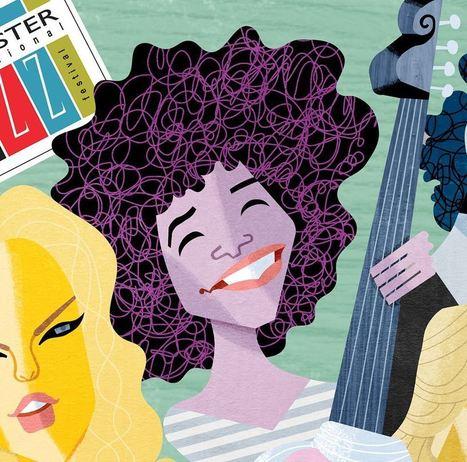 David Cowles Illustrations: Esperanza Spalding | Jazz Plus | Scoop.it