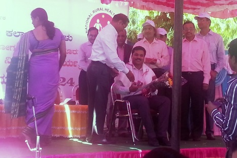 Axshya staff felicitated on World TB Day   Tuberculosis   Scoop.it