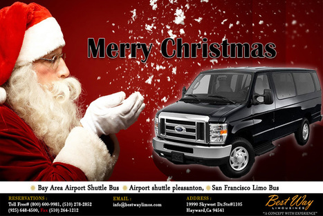 Merry Christmas - Best Way Limo | Bay Area Limousine Services | Scoop.it