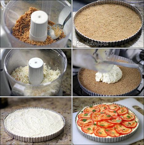 Cheesecake Salgado ~ PANELATERAPIA - Blog de Culinária, Gastronomia e Receitas | Receitas da Lia | Scoop.it