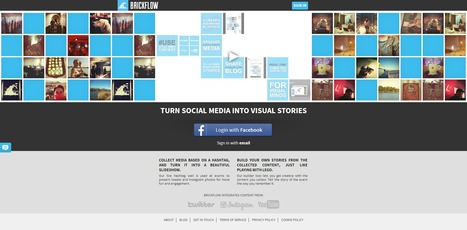 Brickflow : Turn Social media into visual stories | Time to Learn | Scoop.it