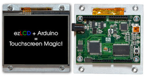 An award-winning LCD with an Arduino built-in (using only 2 pins!) | Raspberry Pi | Scoop.it