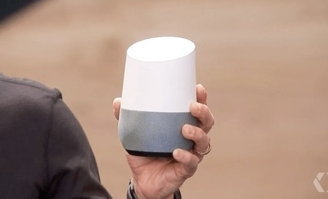 Google Home, el altavoz inteligente para el salón | dataInnovation | Scoop.it