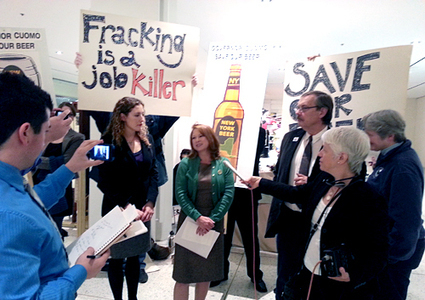 Wineries and Breweries Call on Gov. Cuomo to Ban Fracking | EcoWatch | Scoop.it