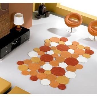 Alfombra moderna de lana Fricks - OcioHogar.com | Muebles de diseño moderno | Scoop.it